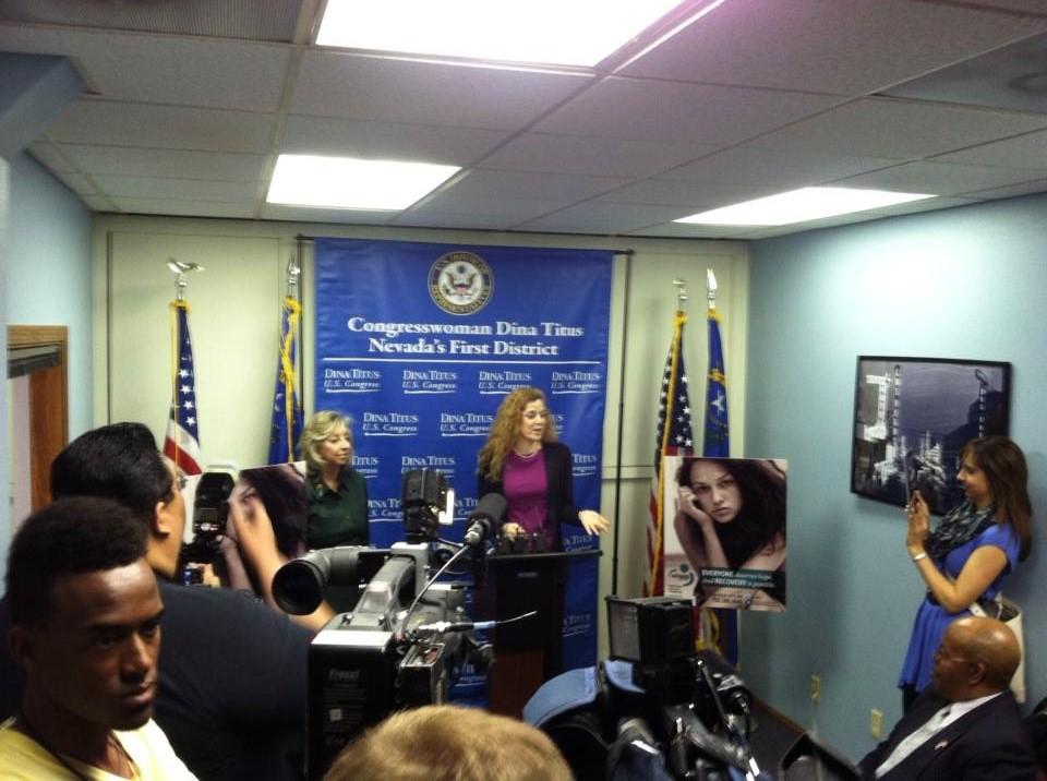Rape Crisis Center press coference