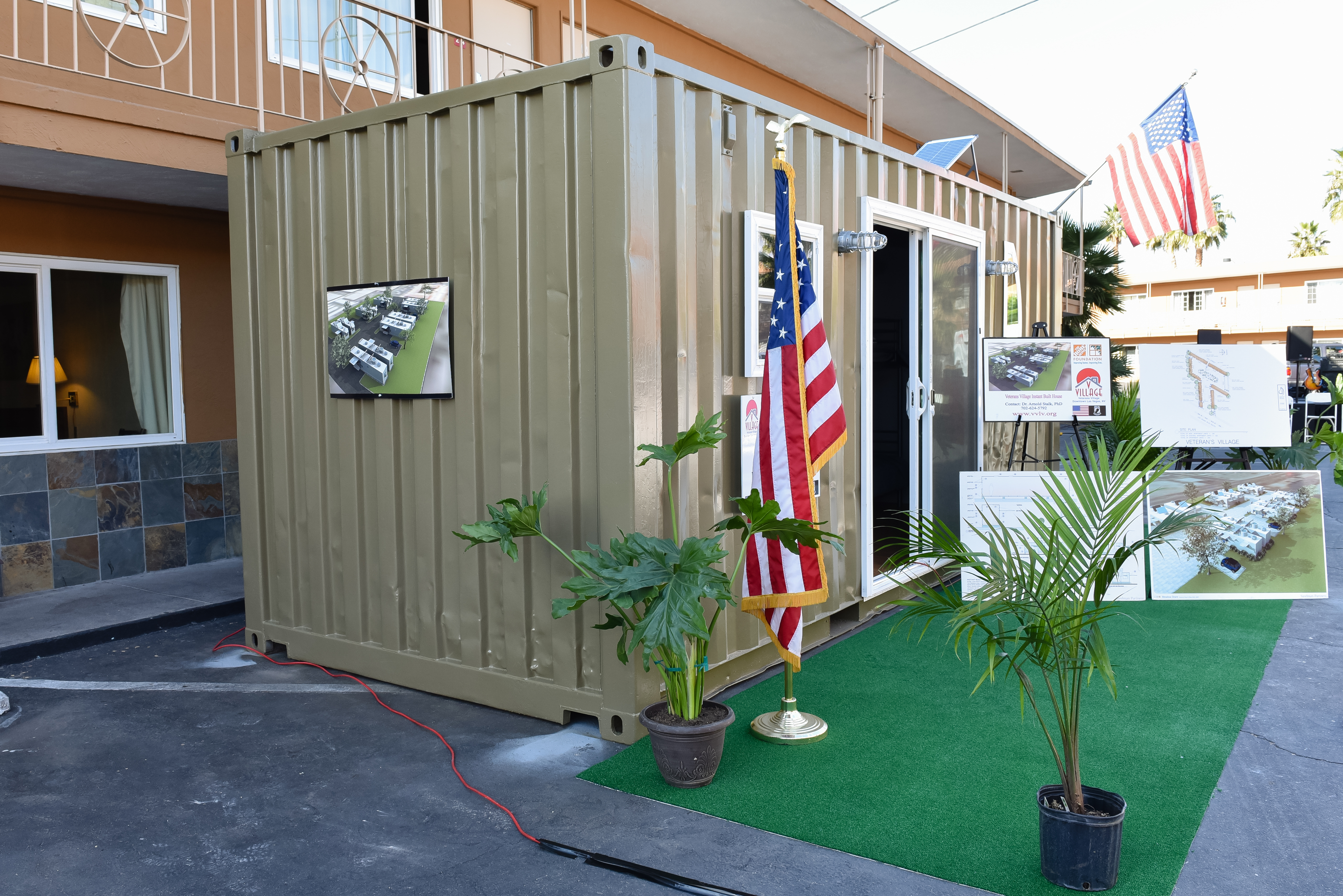Veterans Village Tiny House
